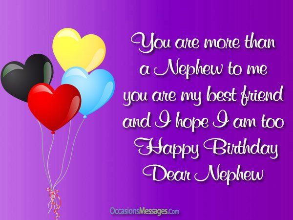 Top 300 Birthday Wishes For Nephew Happy Birthday Nephew Happy