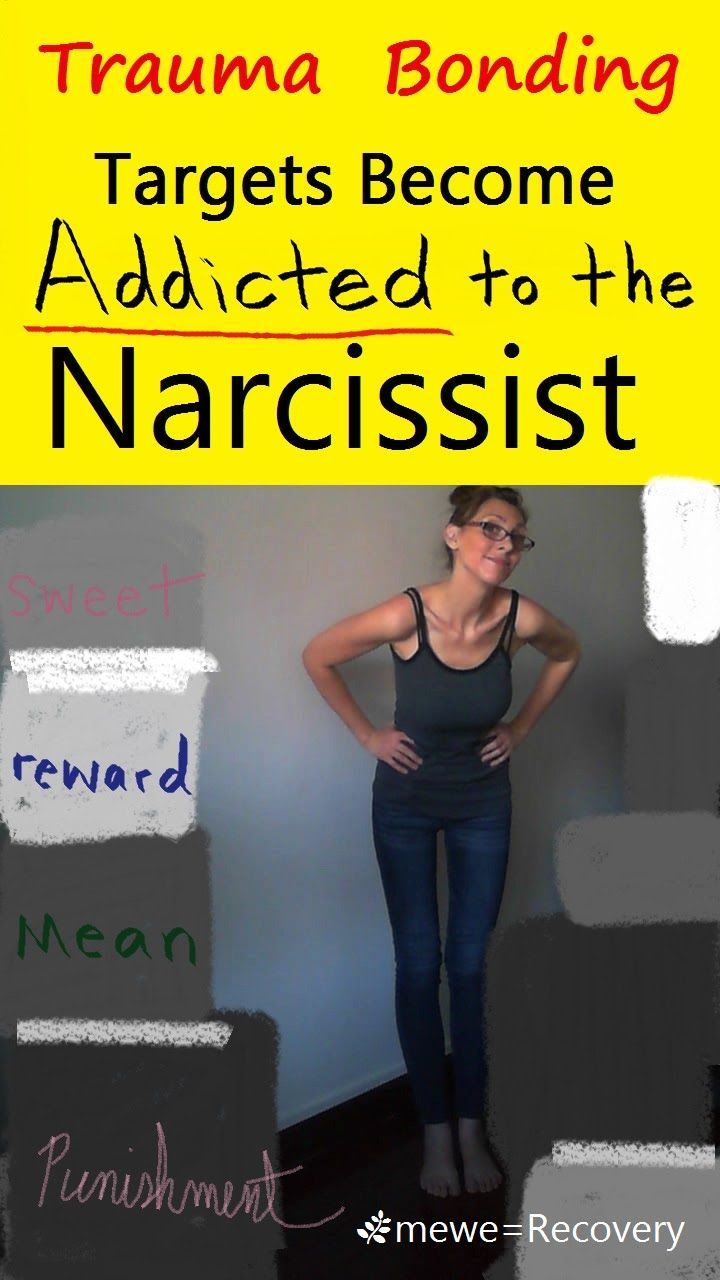 Targets Become Addicted To The Narcissist : Trauma Bonding