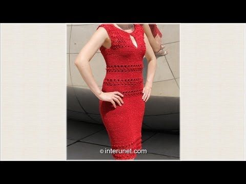 (16) Lace Crochet Clothes Dress Models Patterns Designs New Fashion - YouTube