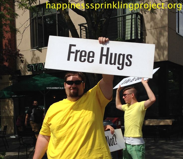 How many hugs can you give today? (Bellingham, WA)