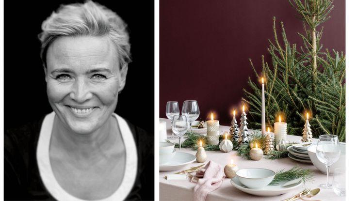 Pernille Albers er boligstylist og har sit eget showroom med butik i Odense. Hun giver her sine bedste idéer til, hvordan du dækker et naturligt smukt julebord.