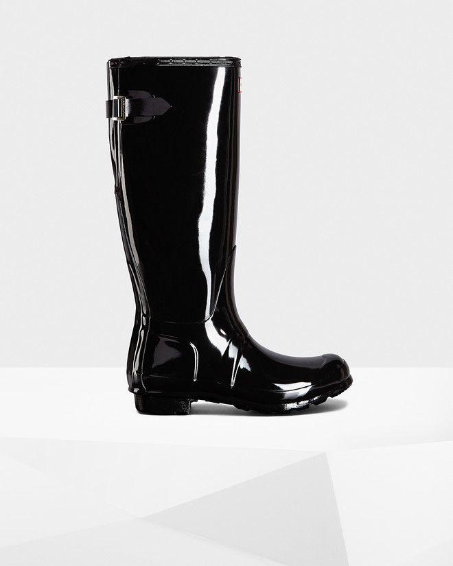 Women's Original Adjustable Gloss Rain Boots size 9