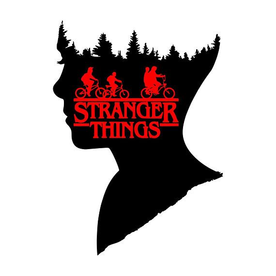 Digi-tizers Stranger Things Eleven Silhouette (SVG Studio V3 JPG) We also make shirts, vinyl decals, wall art, koozies and more! If you would like any of our designs on a different item than listed please send me a message and I will see if we can accommodate you. *Note.. if you