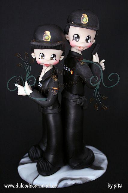 All sizes | NOVIOS PERSONALIZADOS POLICIA NACIONAL | Flickr - Photo Sharing!