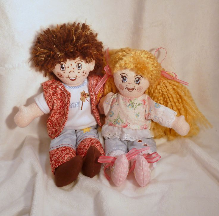 Adorable dolls all made in the quot hoop http
