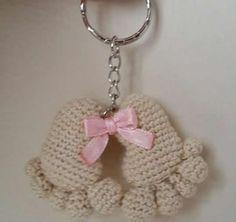 Huellas de bebé en amigurumi