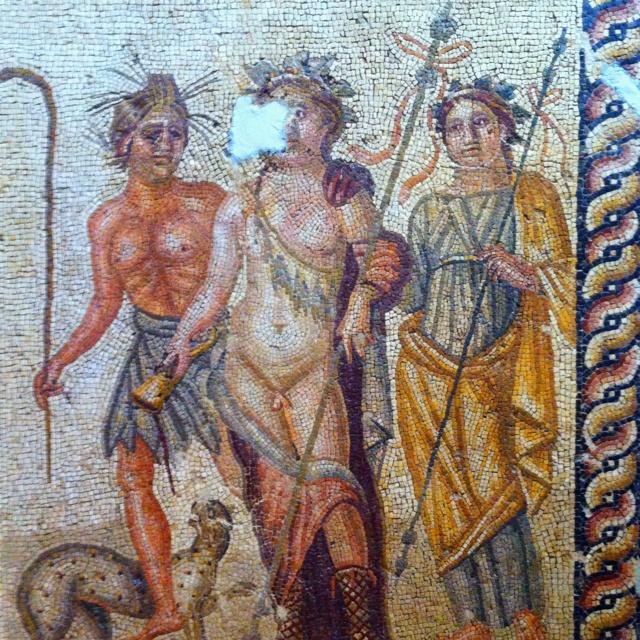 Diyonysus from Antakya, Turkey. 2nd Cent A.D.