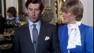 Princess Dianas engagement interview (best quality)
