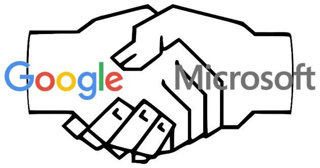 Google i Microsoft podpisują porozumienie patentowe