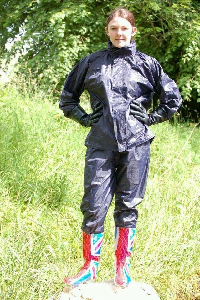 334 best nylon rainwear images on pinterest duchess of for Best rain suit for fishing