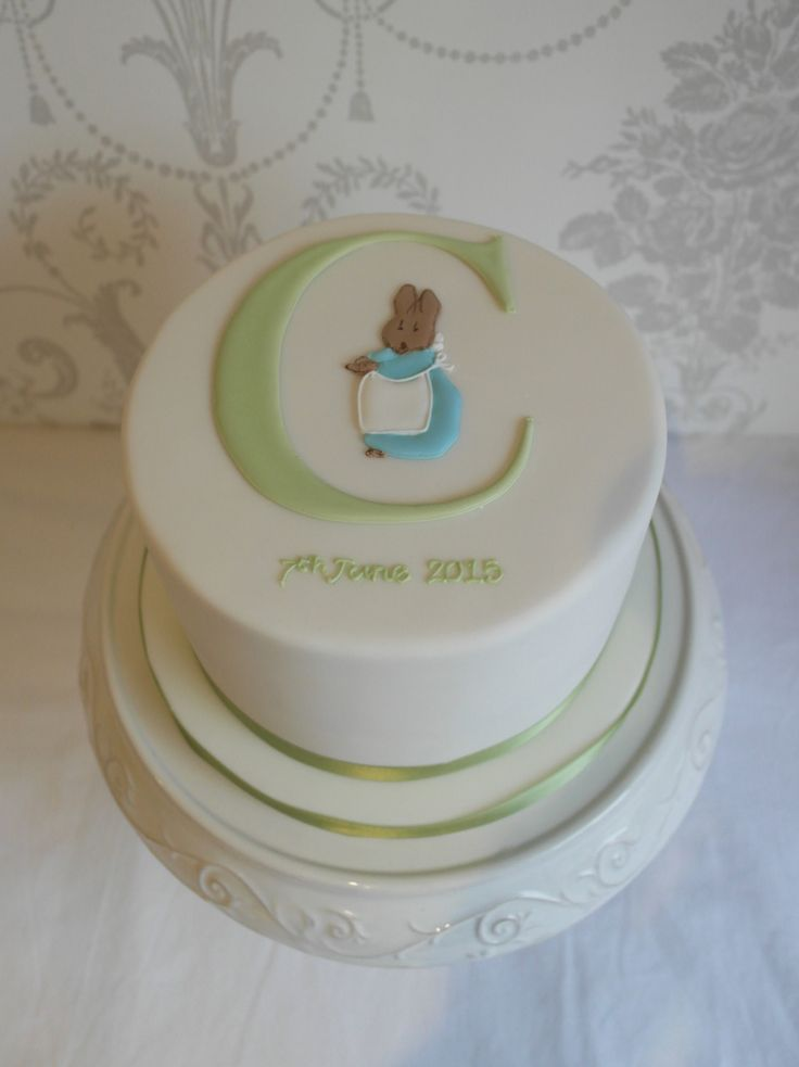 Cecily Parsley Christening Cake