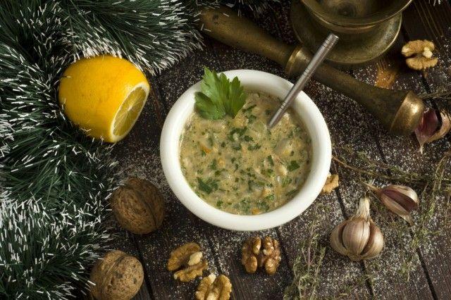 Сациви – ореховый соус. Пошаговый рецепт с фото - Ботаничка.ru