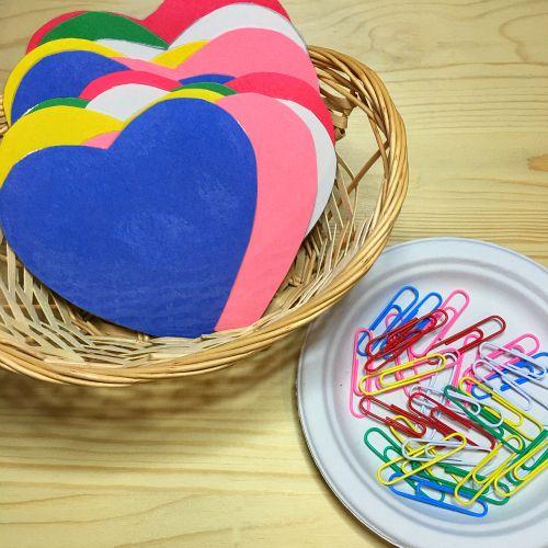 corazones de motricidad fina para preescolar y jardín de infantes