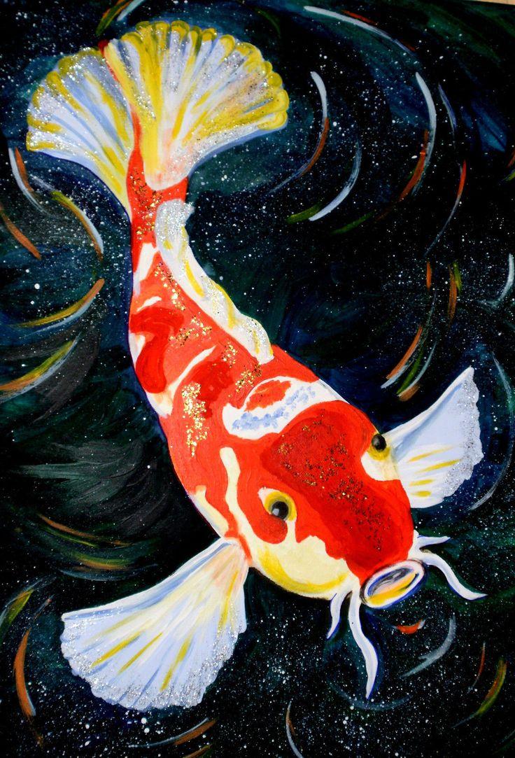Картинки восточных рыбок