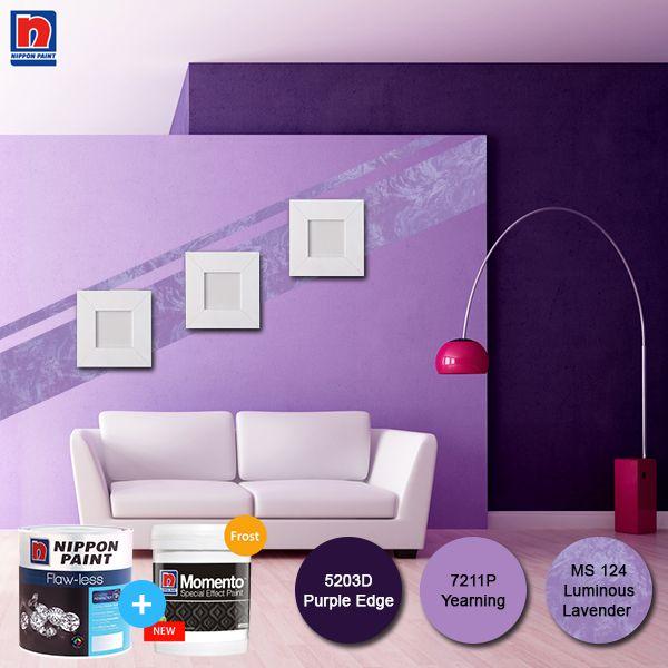 Bosan dengan tampilan dinding yang polos, apalagi saat menjelang Hari Raya? Kombinasikan warna polos dinding Sahabat Nippon Paint dengan tekstur dari Nippon Momento, akan lebih memperindah ruangan.  Lihat variasi Nippon Momento Special Effect Paint lainnya di http://bit.ly/nippon-momento-special-effect-paint  #ImajinasiTanpaKompromi #WarnaWarniLebaran
