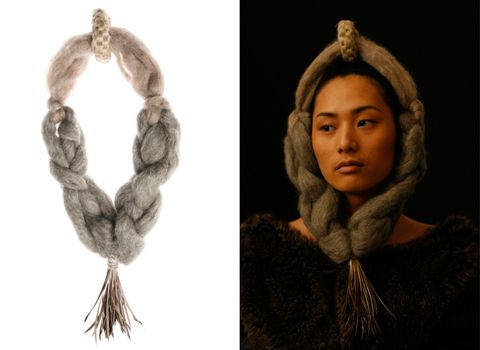 HYBRIDS, Textile Futures Textile by textile artist Hao-Ni Tsai