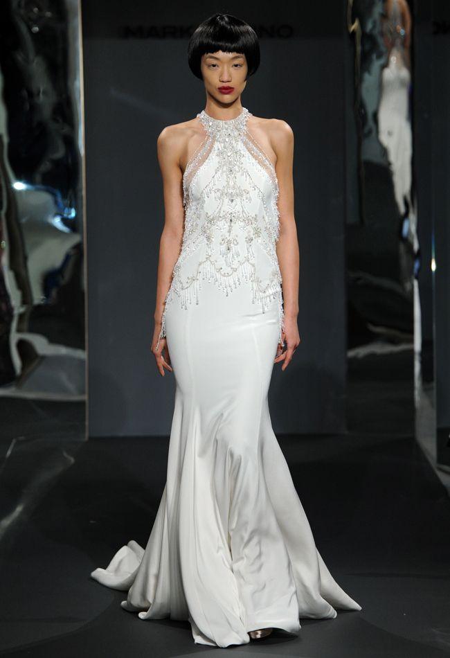 Mark Zunino #wedding dresses Spring 2014 collection. To see more: http://www.modwedding.com/2013/10/18/mark-zunino-wedding-dresses-spring-2014/ #weddingdresses
