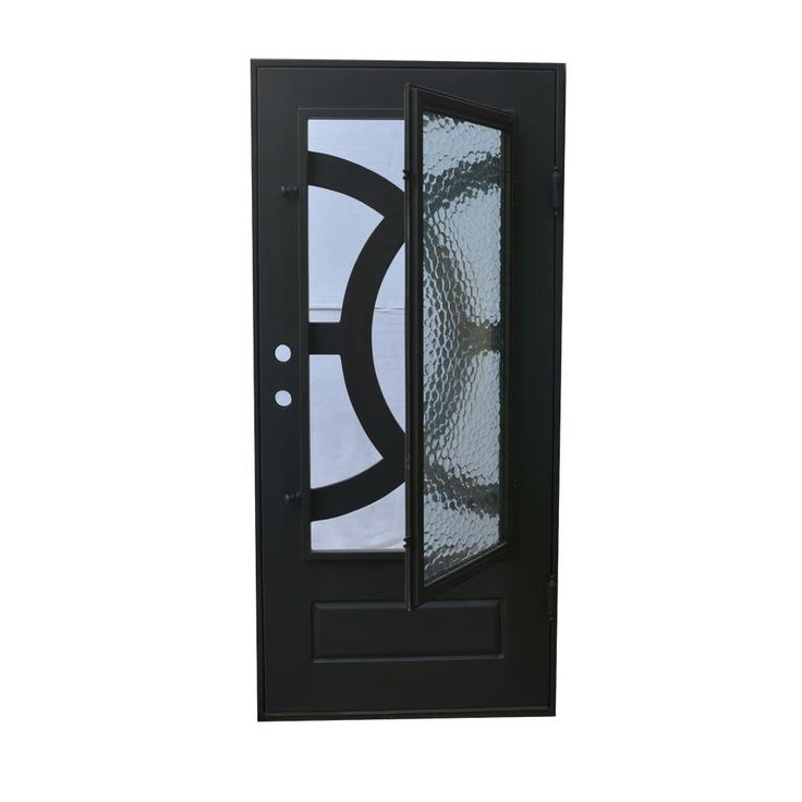 Exterior wrought iron glass doors eclipse collection Grafton exterior wrought iron doors