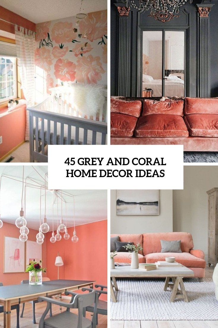 Decorating With Living Coral Pantone Color Of The Year 2019 Coral Home Decor Coral Decor Coral Interior