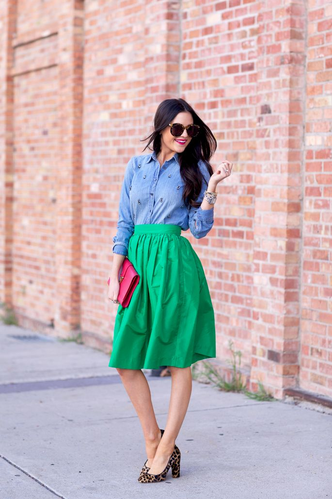 Watermelon Flavored…ideas for the chambray.