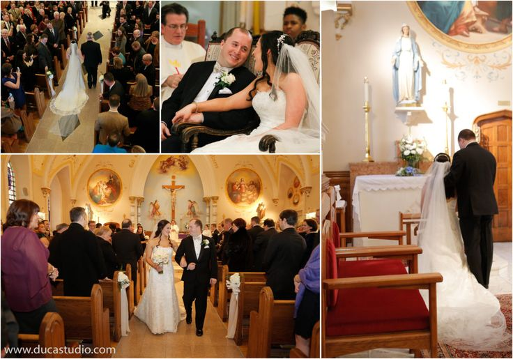 PHILADELPHIA CATHOLIC CHURCH WEDDING CEREMONY PHOTOGRAPHY