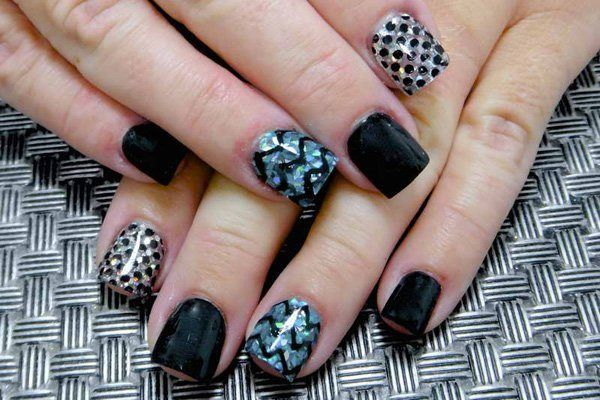 Simple Acrylic Nail Designs 2016 for Party