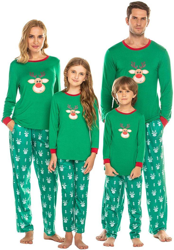 Ekouaer Pajamas Women's Christmas Sleepwear