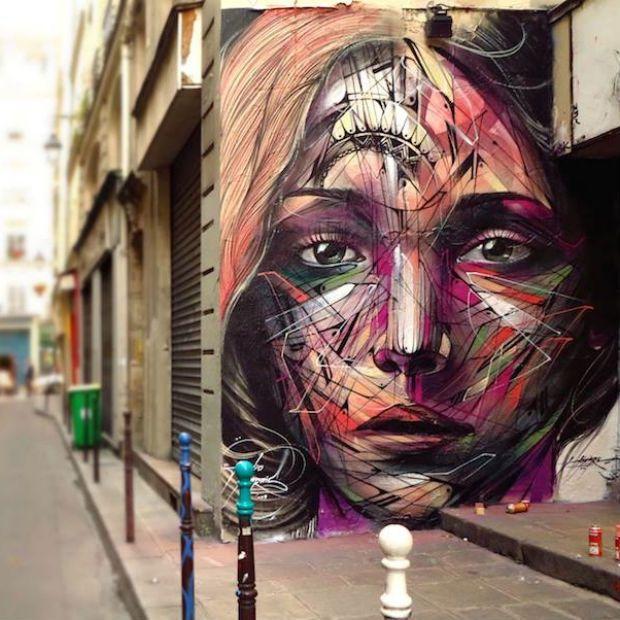 Alex Hopare em Paris, França.