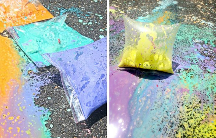 Best 25 Exploding Chalk Ideas On Pinterest Projects For Kids Chalk Bombs And Sidewalk Chalk