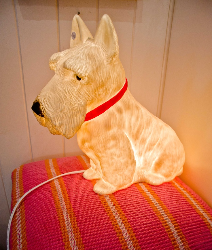 69 best Scottie Lamps & Finials images on Pinterest