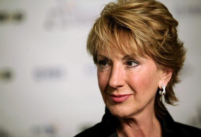 Carly Fiorina - former CEO of HP, breast cancer survivor, attempted to bring sanity to CA political landscape