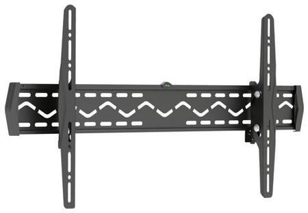 Deluxe Крепёж для тв и мониторов deluxe dlmm-3704  — 1273 руб. —  Крепёж для ТВ и мониторов Deluxe DLMM-3704 Настенное крепление подходит для телевизоров и мониторов с диагональю экрана от 37'' до 70''. Крепление DLMM-3704 позволяет менять угол наклона вниз 15 и вверх 5 градусов. Допустимая максимальная нагрузка 50 кг. Крепёж изготовлен из высококачественного металла и имеет самый распространённый размер монтажных отверстий. Крепление адаптировано для простого и быстрого монтажа. В комплекте…