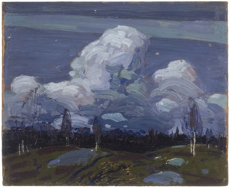 Tom Thomson | Moonlight, Fall 1914