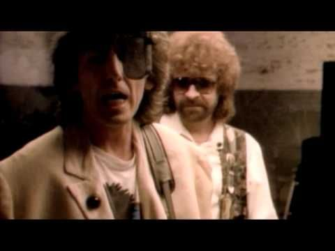 All these great vocals in one amazing band!  Traveling Wilburys - 'Handle With Care'.  http:vainwales.com favourite listening.