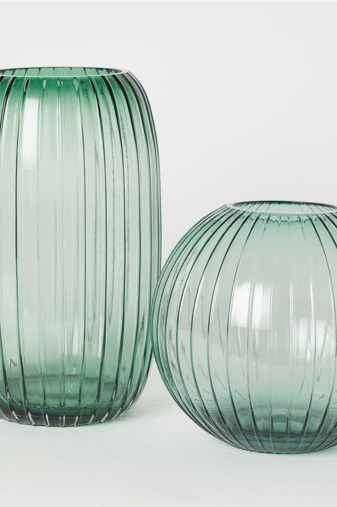Rund Vase I Glass Tall Glass Vases Round Glass Vase Glass Vase