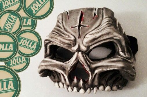 The mask of salmo by jolla