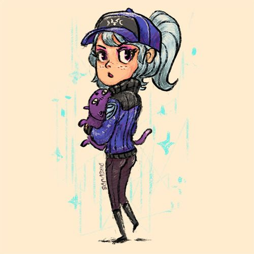 #casualdota Luna's the meanest. Meanest punch, meanest cat, and meanest pair of buns.