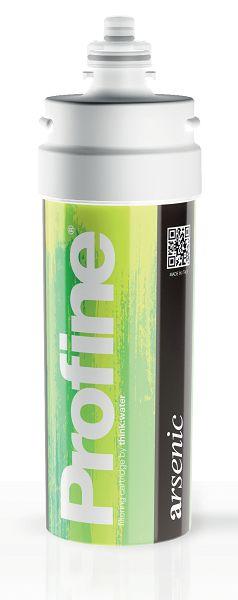 PROFINE ARSENIC è un filtro che viene utilizzato per abbattere la concentrazione di arsenico presente nell'acqua della rete idrica.