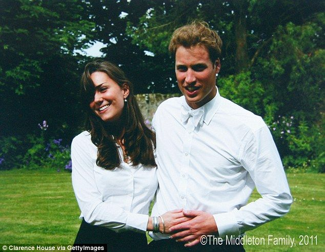 Young love: During his time at St Andrews University, the Prince met and fell in love with...