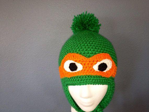 94 Best Crochet Hats Tmnt Images On Pinterest Crochet Ninja