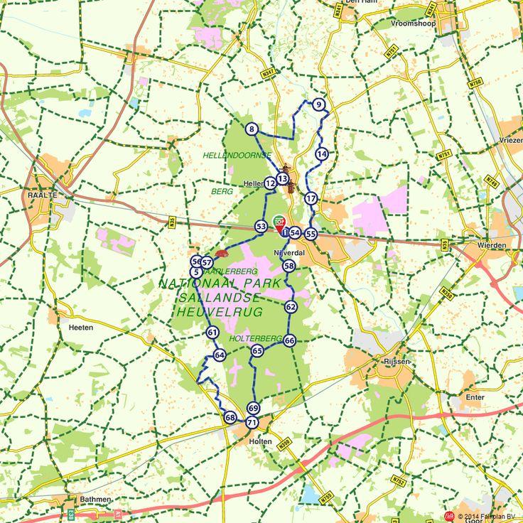 Fietsroute: Sallandse Heuvelrug en Regge  (http://www.route.nl/fietsroutes/117670/Sallandse-Heuvelrug-en-Regge/)