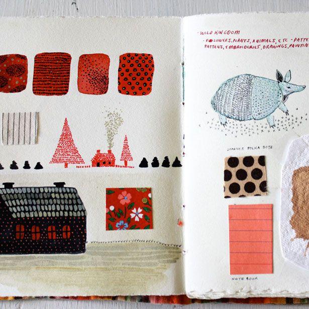 Becca Stadtlander sketchbook #art