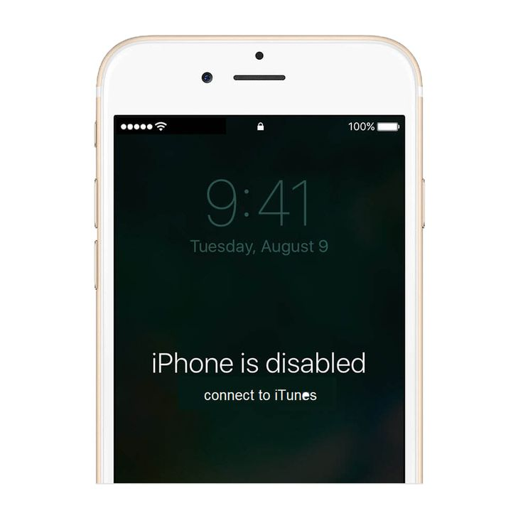 If your iphone is unfortunately disabled how do you fix