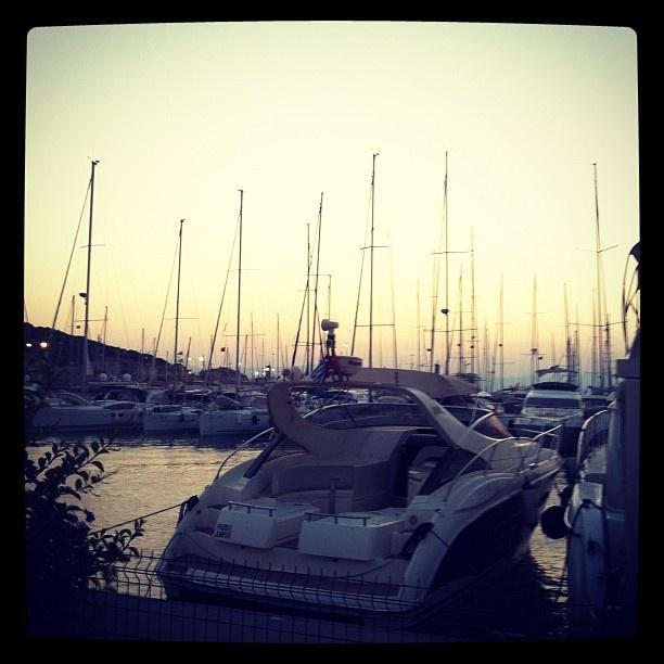 Sunset at Cesme Marina