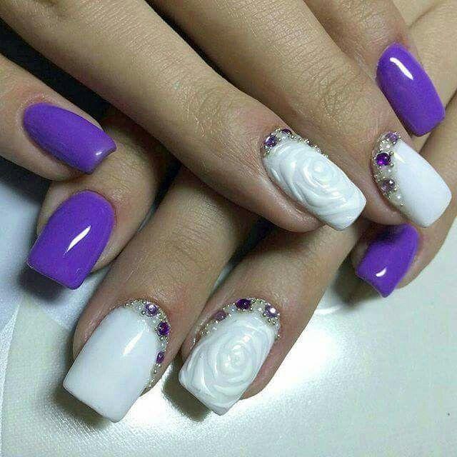 140 mejores imágenes de nails en Pinterest   Uñas con motivo de ...