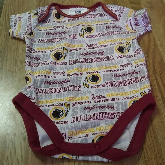 Redskins lover!!!! Cute for a Lil Baby Boy!!!! EUC One Piece Other