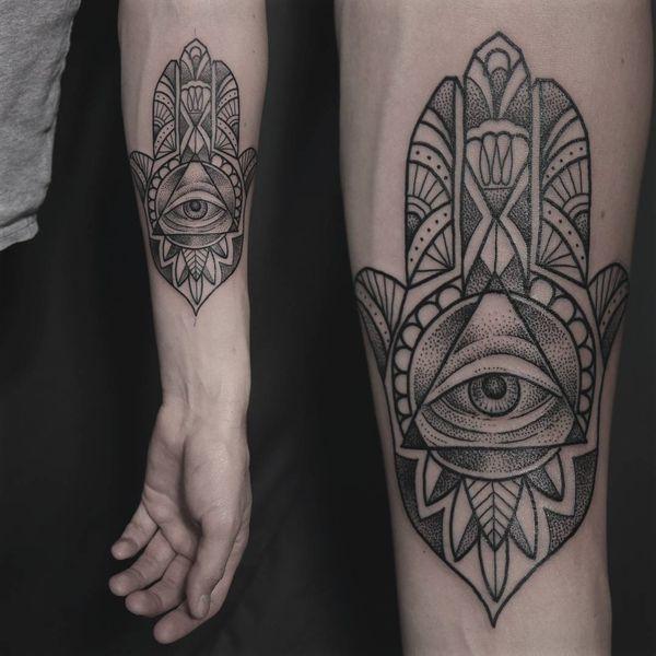 Disenos De Tatuajes Hamsa Con Significado Hamsa Significado Tatuajes Diseno De Tatuaje Hamsa Tatuaje Hamsa Tatuaje De Mano De Fatima