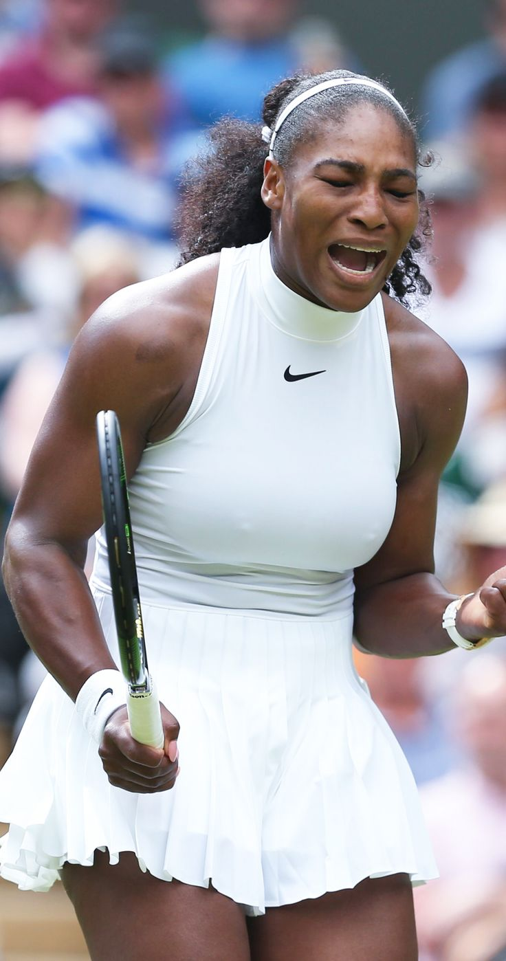 So tonnes of people complained about Serena Williams' body at Wimbledon, and we're so angry...
