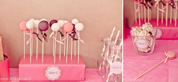 Le Candy Bar - Sweet Table etc: Anniversaire Déco Rose Chocolat