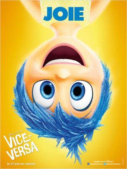 Bande annonce FR et affiche de ViceVersa Disney Pixar